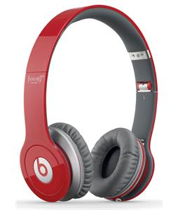 Beats SoloHD Headphones Red