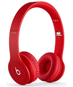 Beats SoloHD Headphones Matte Red