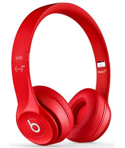 Beats Solo 2 Headphones Red