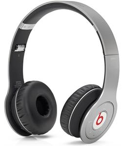 Beats Wireless Headphones Silver