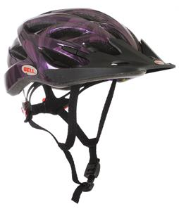 Bell Arella Bike Helmet Black/Purple Flowers Adjustable