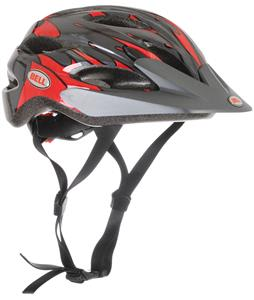 Bell Buzz Bike Helmet Black/Red Slipstream Adjustable
