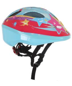 Bell Dart Bike Helmet Light Blue Stars Adjustable