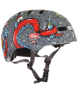 Bell Faction Bike Helmet Matte Titanium Jimbo Phillips Strange