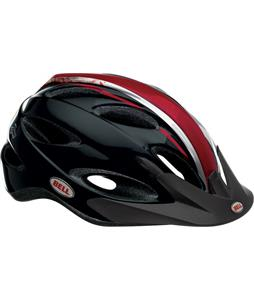 Bell Piston Bike Helmet Black/Red/White Scurvy