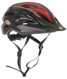 Bell Piston Bike Helmet Black/Red Rally Adjustable