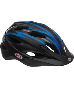 Bell Piston Bike Helmet Matte Black/Blue/Titanium