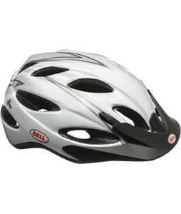 Bell Piston Bike Helmet White/Silver Apex