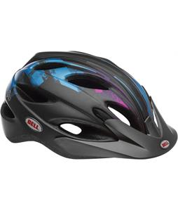 Bell Piston Bike Helmet Charcoal Blue/Pink Helix