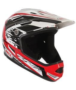 Bell Sanction Bike Helmet Red/Black White Splatter