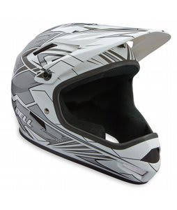 Bell Sanction Full Face Bike Helmet White/Silver