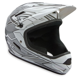 Shop for Bell Sanction Full Face Bike Helmet White/Silver - Men's