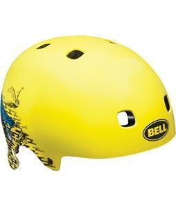 Bell Segment BMX Bike Helmet Hi-Vis Yellow Specter