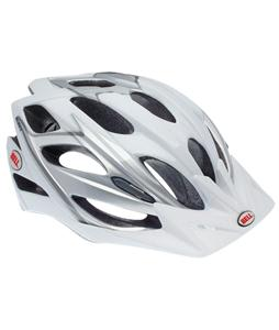 Bell Slant Bike Helmet Silver/White Adjustable (54-61cm)