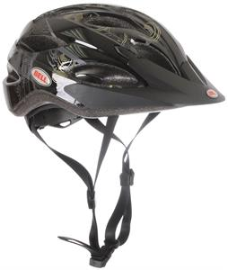 Bell Strut Bike Helmet Black/Gold Trance Adjustable