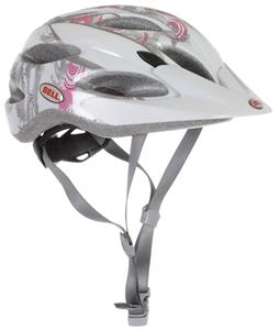 Bell Strut Bike Helmet White/Pink Trance Adjustable