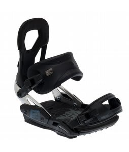 Bent Metal Mortal Snowboard Bindings Black
