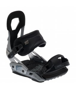 Bent Metal Mortal Snowboard Bindings Gray