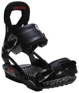 Bent Metal X GNU Psych Snowboard Bindings