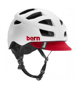 Bern Allston Bike Helmet Satin White