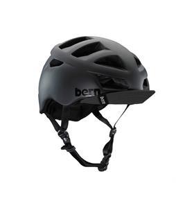 Bern Allston Bike Helmet Matte Black w/ Visor