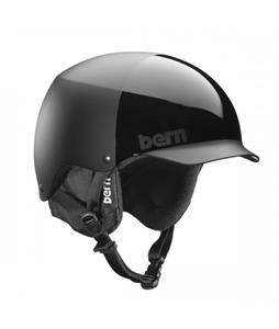Bern Baker EPS Snow Helmet All Black Everything w/ Cordova Liner