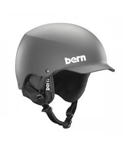 Bern Baker EPS Snow Helmet Matte Grey w/ Black Liner