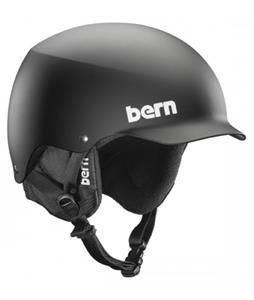 Bern Baker EPS Snow Helmet Matte Black w/ Black Liner