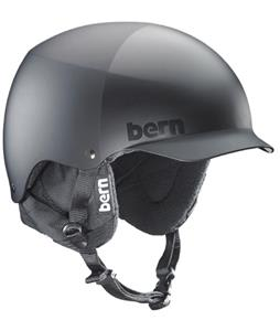 Bern Baker Thinshell Snow Helmet All Black Everything/Black Cordova