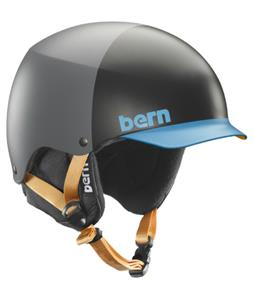Bern Baker Thinshell Snow Helmet Matte Grey Hatstyle/Black Cordova