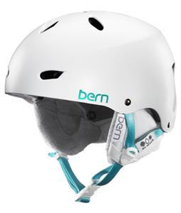Bern Brighton Thinshell Snow Helmet Satin White/White Cordova