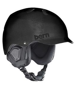 Bern Carbon Watts Snow Helmet Gel Coat Black/Black Waxed Canvas
