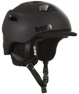Bern G2 Zipmold Snow Helmet Matte Black w/ Black Liner