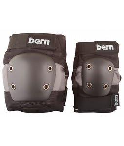 Bern Junior Pad Set Skate Pads Black/Grey