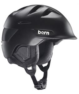 Bern Kingston Snow Helmet Matte Black/Black Waxed Canvas