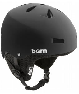 Bern Macon EPS Snowboard Helmet Matte Black w/ Knit