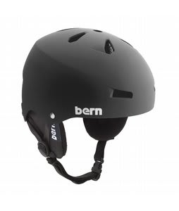 Bern Macon Snowboard Helmet Matte Black/Black Cordova