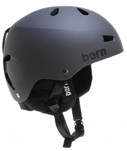 Bern Macon Snowboard Helmet Matte Grey/Black Cordova