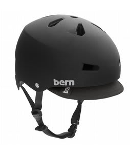 Bern Macon Summer Bike Helmet Matte Black EPS w/ Visor