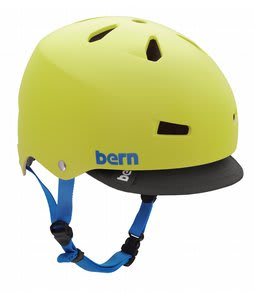 Bern Macon Summer Bike Helmet Neon Yellow EPS w/ Visor