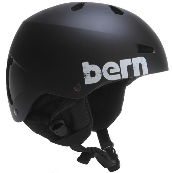 Bern Macon Thin Shell w/ 8Tracks Audio Snow Helmet