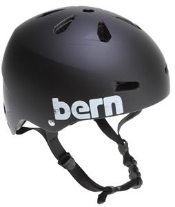 Bern Macon Thin-Shell Eps Skate Helmet Matte Black