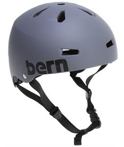 Bern Macon Thin-Shell Eps Skate Helmet Matte Grey