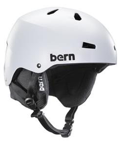 Bern Macon Thinshell Snow Helmet Satin White/Black Cordova