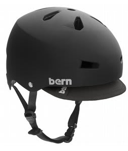 Bern Macon w/ Visor Bike Helmet Black