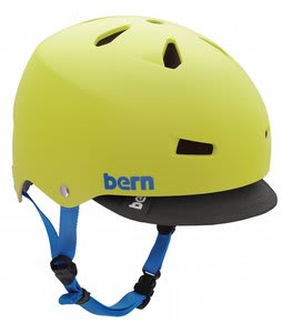 Bern Macon w/ Visor Bike Helmet Neon Yellow