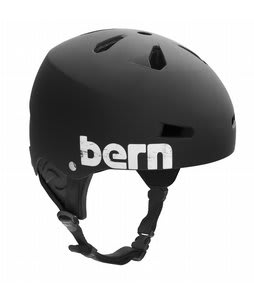 Bern Macon Water Helmet Matte Black/Distressed Logo