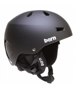 Bern Macon EPS Snowboard Helmet Matte Black/Black Cordova