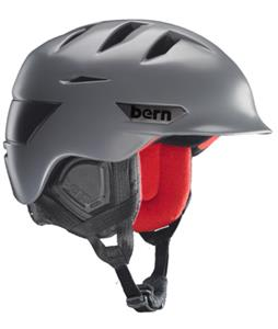 Bern Rollins Snow Helmet Satin Grey/Black Waxed Canvas