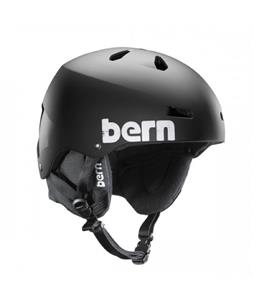 Bern Team Macon EPS Snow Helmet Satin Black